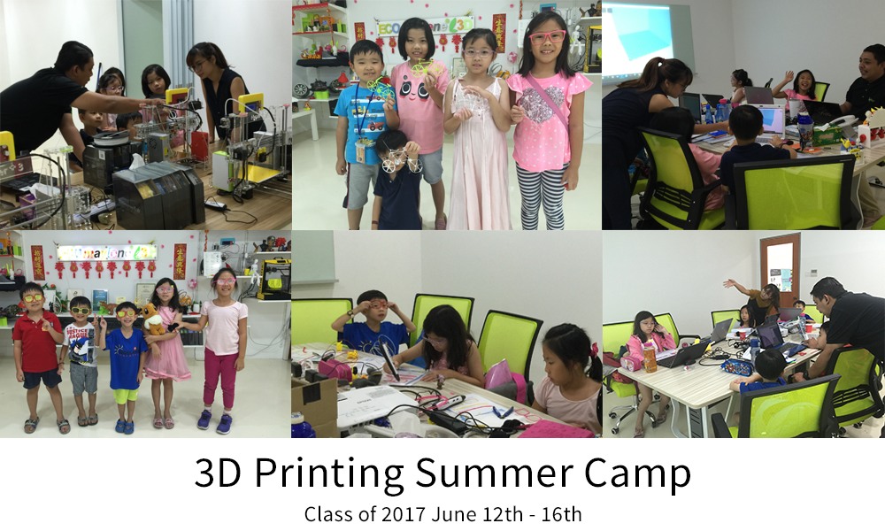 3D Printing Summer Camp - Class of 2017 - June 12th - 16th