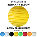 ECOmaylene3D - ABS 1.75 MM | Banana Yellow