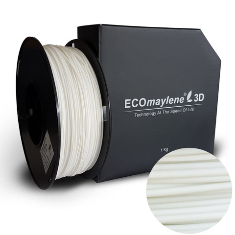 ECOmaylene3D - Alloy Filaments - PLA/PC 1.75MM | Snowy White