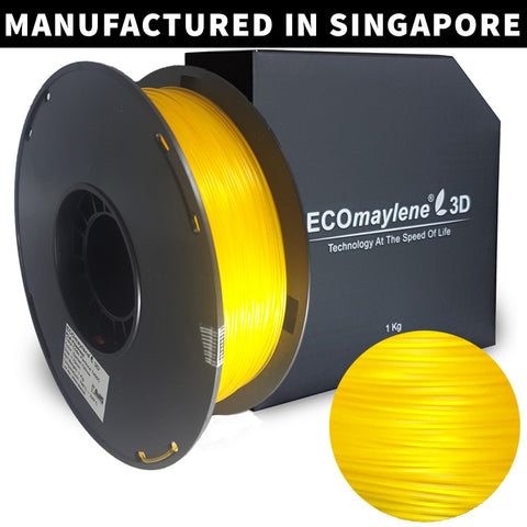 ECOmaylene3D - PLA Filaments - PLA 1.75MM | Garnet Yellow