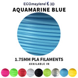 ECOmaylene3D - PLA 1.75MM | Aquamarine Blue