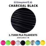 ECOmaylene3D - PLA 1.75MM | Charcoal Black