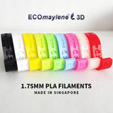 ECOmaylene3D - PLA 1.75MM | Fuzzy Yellow