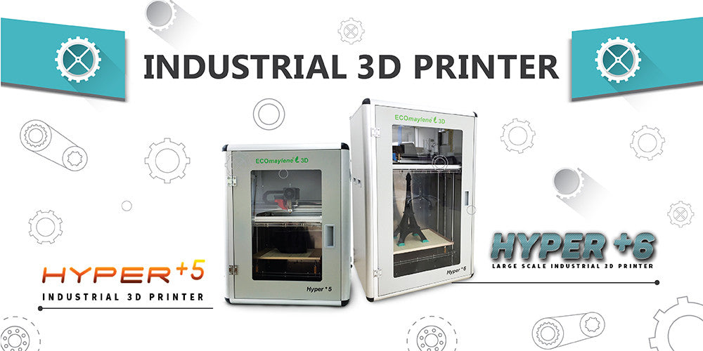 Hyper+5 industrial 3d printer
