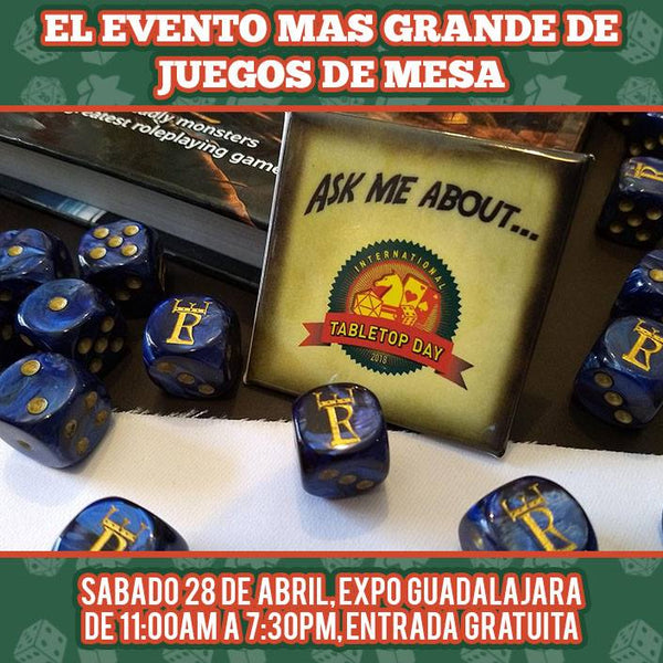 International Tabletop Day GDL 2018
