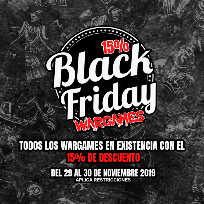 BLACK FRIDAY EN WARGAMES!