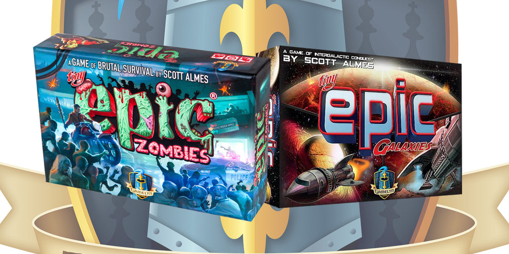 La Fortaleza De Juegos: Unboxing Tiny Epic Zombiens y Tiny Epic Galaxies.