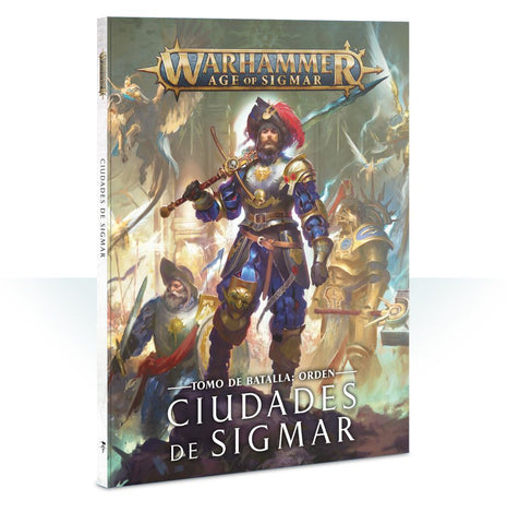 Warhammer Age of Sigmar: Battletome Cities of Sigmar (Esp)