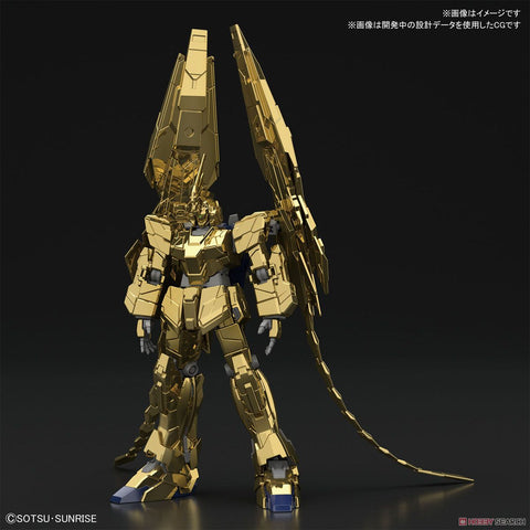 Bandai: RX-0 Unicorn Gundam 03 Phenex Gold Coating HGUC 1/144 Gundam NT