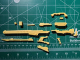 SIMPro Resin Kit: W008 Space Long Rifle 1/144