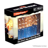 D&D Minis: Spell Effects- Wall of Fire & Wall of Ice
