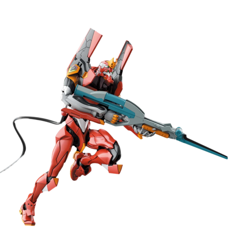 Bandai: Multipurpose Humanoid Decisive Weapon Proto Model-02 Rebuild of Evangelion Unit-02 RG 1/144