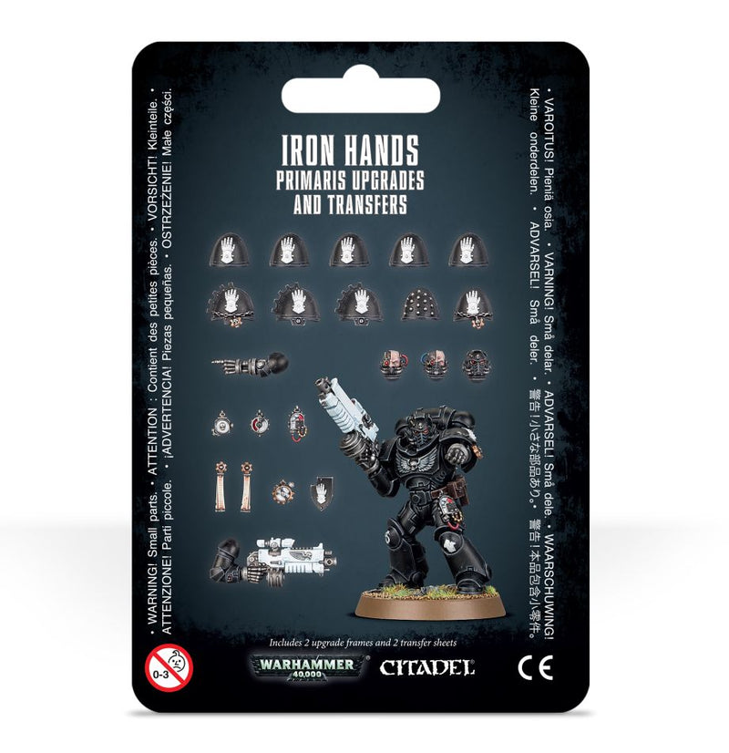 Warhammer 40K: Iron Hands Primaris Upgrades and Transfers