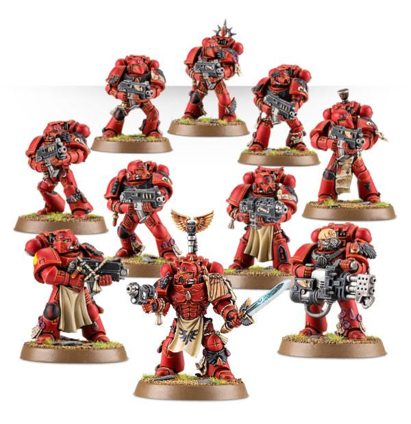 Warhammer 40K: Blood Angels Tactical Squad