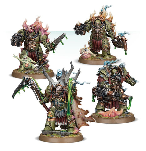 Warhammer 40K: Death Guard Lord Felthius & The Tainted Cohort (ETB)