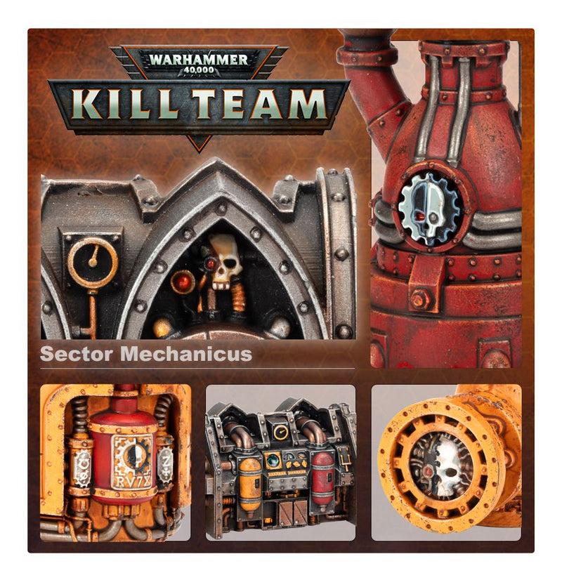 Warhammer 40K Kill Team Killzone: Sector Mechanicus Environment Expansion