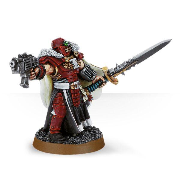 Warhammer 40K: Imperium Inquisitor with Power Sword and Bolt Pistol (WEB)