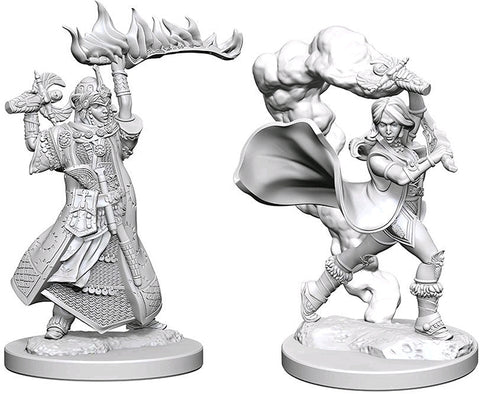 Pathfinder Minis: Human Female Cleric