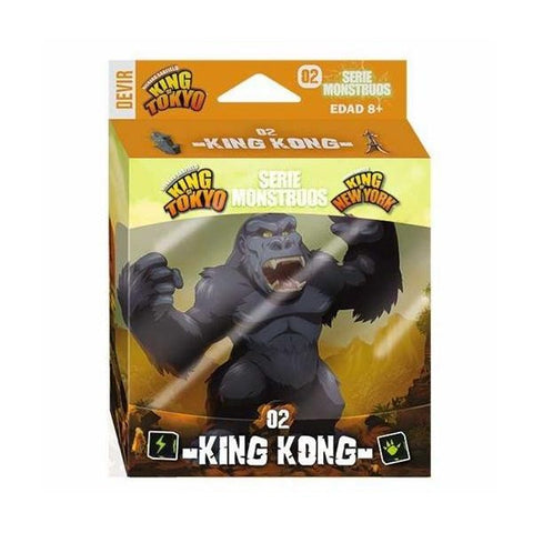 King of Tokyo 2E: King Kong Monster Pack (Español)