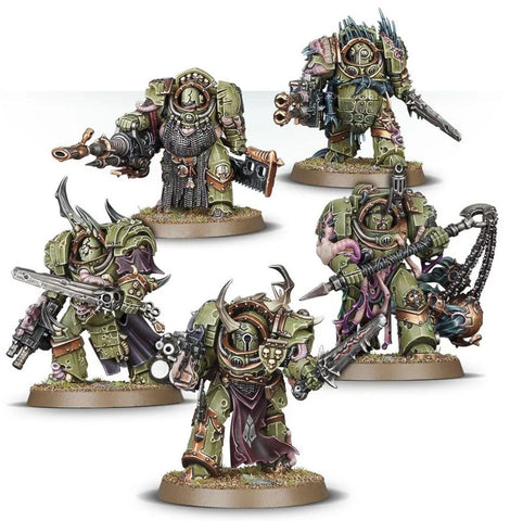 Warhammer 40K: Death Guard Blightlord Terminators