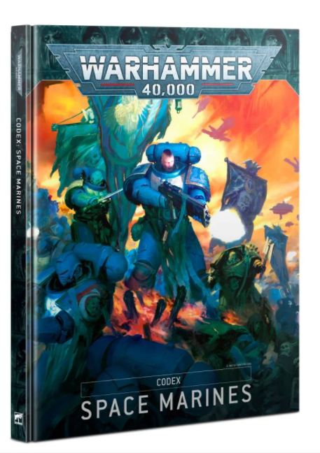 Warhammer 40K: Codex: Space Marines (Ingles)