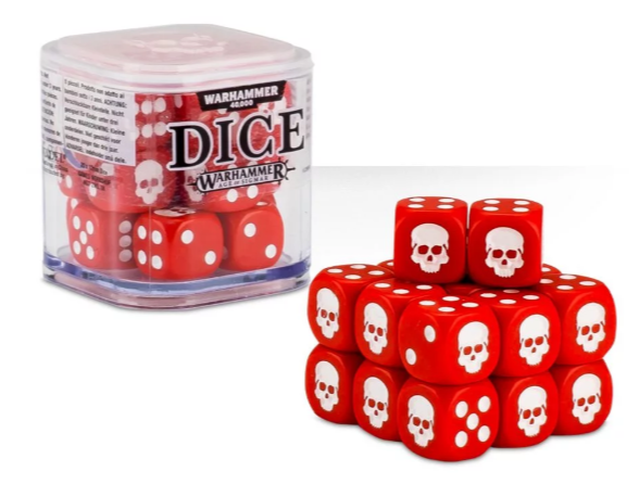 Citadel Dice Set 12mm (20) Rojo