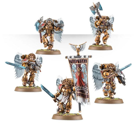 Warhammer 40K: Blood Angels Sanguinary Guard