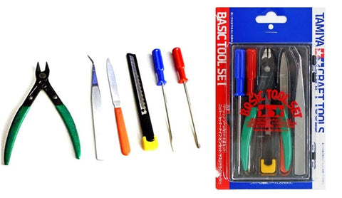 Tamiya: Basic Tool Set