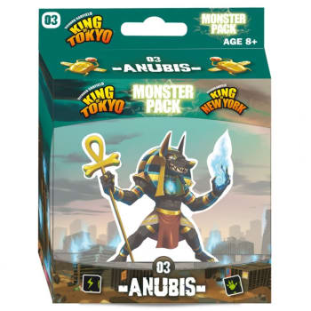 King of Tokyo 2E: Anubis Monster Pack