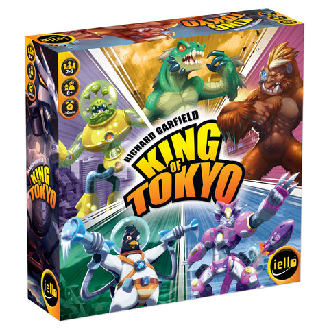 King of Tokyo 2nd Edition (ingles)
