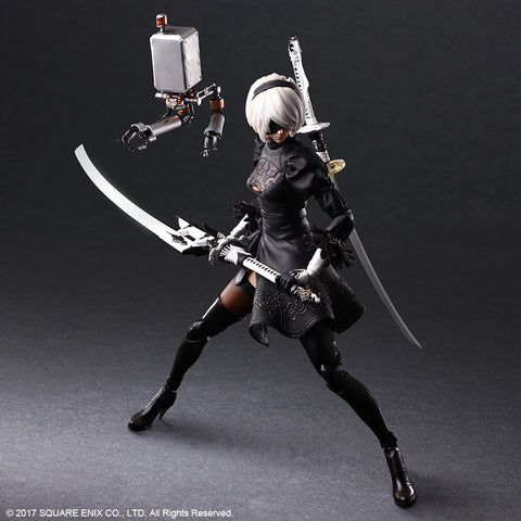 [PREVENTA] PLAY ARTS KAI™ Action Figure – 2B (YoRHa No. 2 Type B) DELUXE Ver.