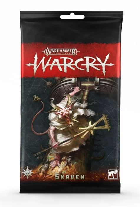 Warhammer Age of Sigmar: Warcry Skaven Card Pack