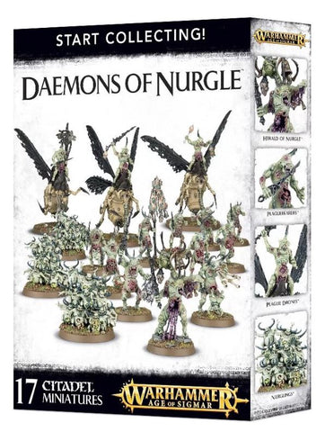 Warhammer: Start Collecting Daemons of Nurgle
