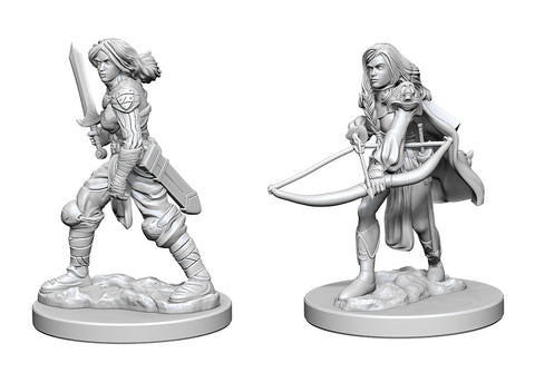 Pathfinder Minis: Human Female Fighter
