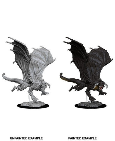 D&D Minis: Young Black Dragon
