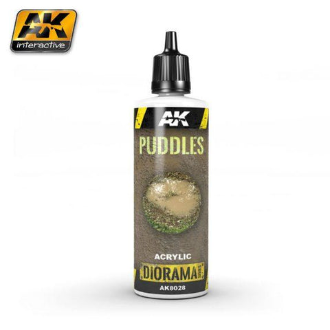 AK-Interactive: (Texture) PUDDLES - 60ml (Acrylic)