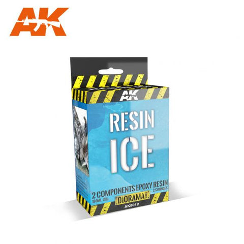 AK-Interactive: (Texture) RESIN ICE - 2 COMPONENTS EPOXY