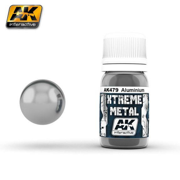 AK-Interactive: Xtreme Metal Aluminium 30ml
