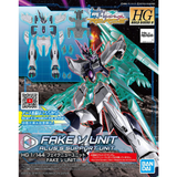 Bandai: R Fake NU Unit HG 1/144 Gundam Build Divers