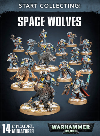 Warhammer 40K: Start Collecting Space Wolves