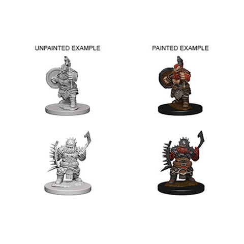 Pathfinder Minis: Dwarf Male Barbarian