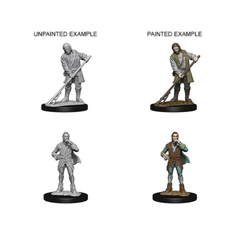 Pathfinder Minis: Towns People (Farmer/Aristocrat)