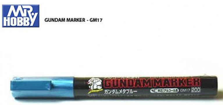 Mr Hobby: GM17 Gundam Marker Metallic Blue