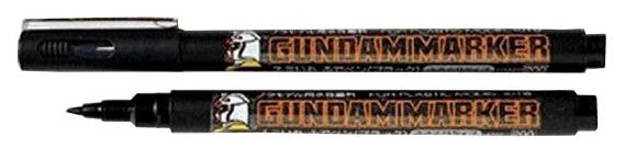 Mr Hobby: GM20 Gundam Marker Brush Type Black