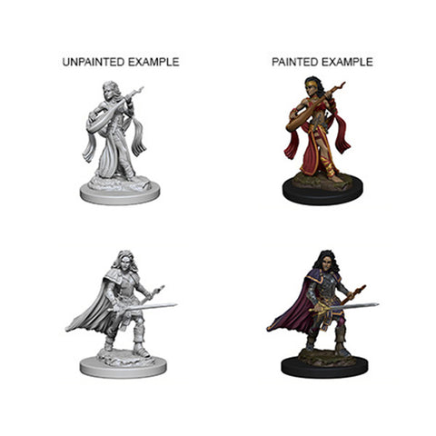 Pathfinder Minis: Human Female Bard