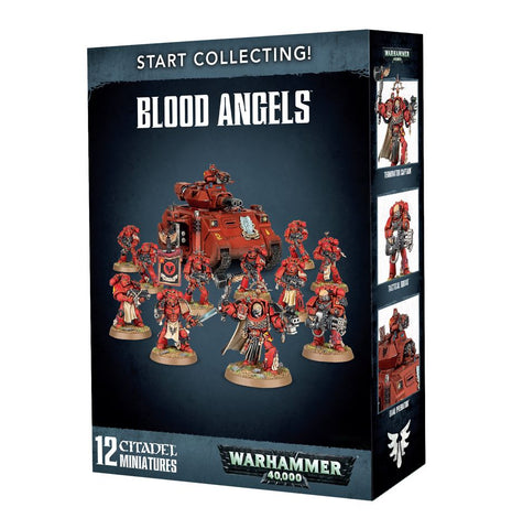 Warhammer 40k: Start Collecting! Blood Angels