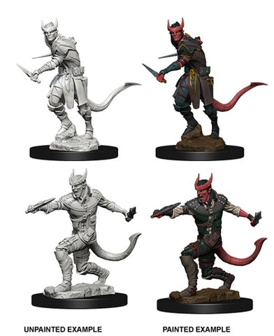 D&D Minis: Tiefling Male Rogue