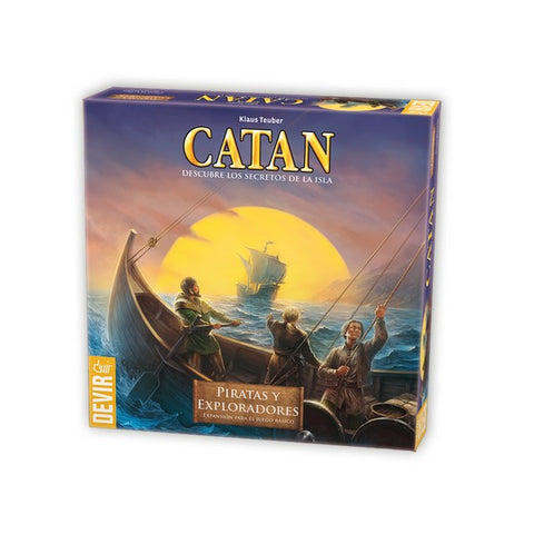 Catan: Piratas y Exploradores