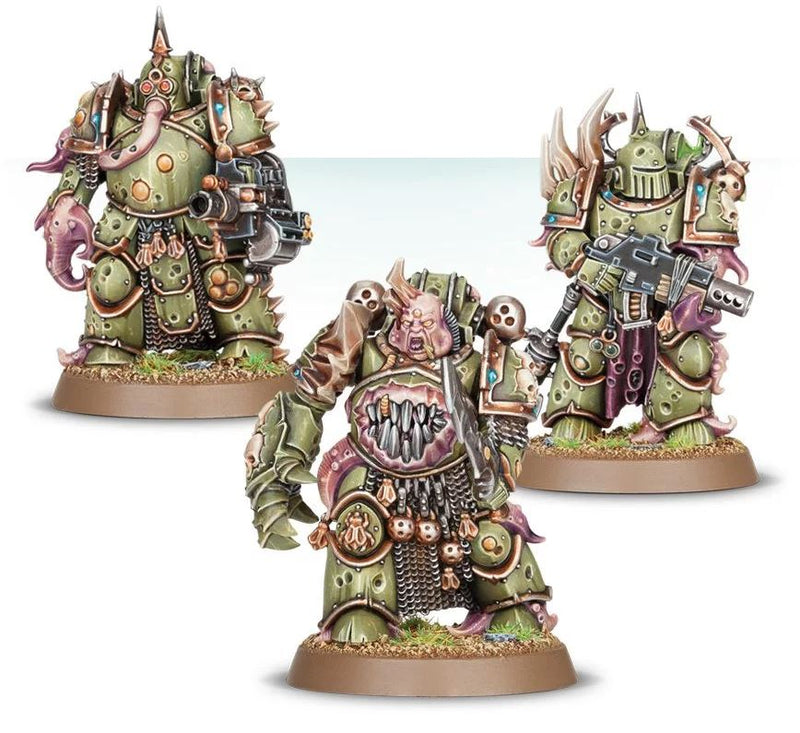 Warhammer 40K: Death Guard Plague Marines (ETB)