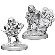 Dungeons & Dragons Unpainted Minis: Halfling Male Rogue